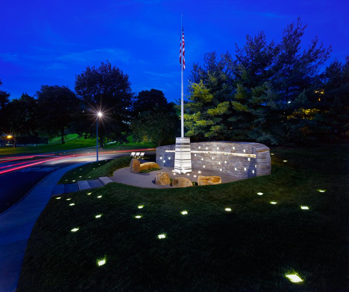 LK-6, Veterans Memorial at Mount Lebanon (Pittsburgh), PA